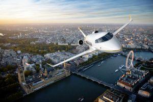 Bombardier Challenger 350 in Belgien