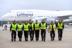 Lufthansa auf Ausbildungsmesse airport@night