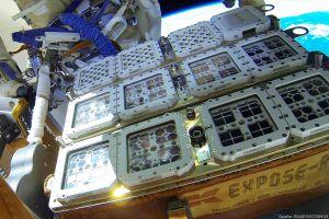 Leben für den Mars: ISS hängt Proben raus