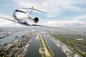 Global 7500 fliegt in Rekordzeit über den Atlantik