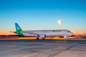 Aus Wien Airline LEVEL neu in Hamburg