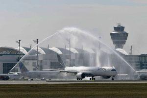 Lufthansa A350 XWB nimmt täglich Osaka ab München auf