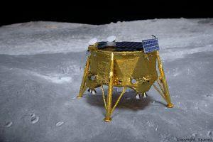 3D-Druck aus der Schweiz hilft privater Mondlandung