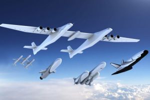 Stratolaunch: Raketenstarter macht ersten Flug