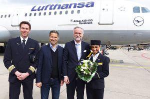 """LH Airbus A321 """"Osnabrück"""" feiert Jubiläum"""