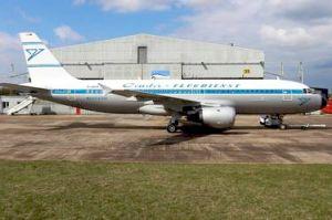 Condor mit Airbus im Retro-Look