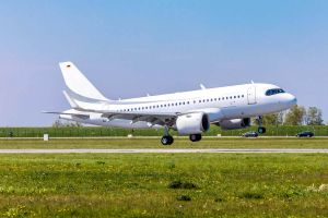 ACJ319neo absolviert Erstflug