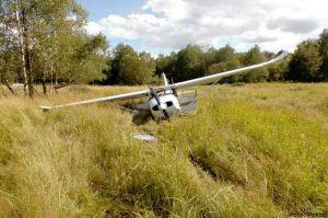 Cessna 172 mit vier Frauen überladen