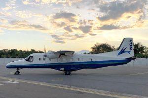 Dornier 228 für NCA in Japan angekommen