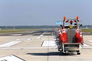 Zwei Wochen Bahnsperrung am Hamburg Airport
