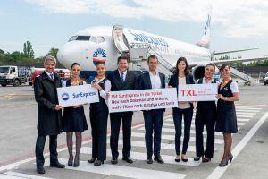 SunExpress ab Berlin: Neue Ziele in Europa und Türkei