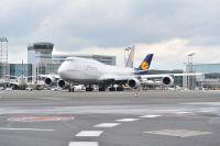 Taufe der Boeing 747-8 Intercontinental auf dem BER