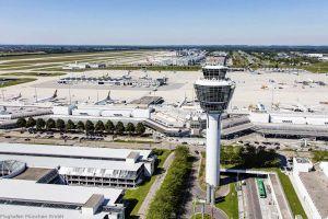 Flugzeugräumung nach Motorenbrand: ICAO-Übung in MUC