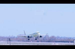 MC-21: Drittes Testflugzeug bei Moskau