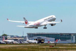 Erstflug eines A350 für Japan Airlines