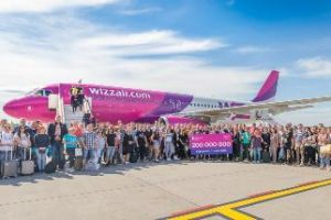 Wizz Air: 200.000.000. Passagier zum 15. Geburtstag