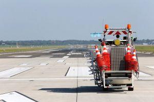 Start- und Landebahn in Hamburb wieder in Betrieb