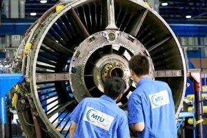 MTU Maintenance für Antriebe der Airbus von GoAir