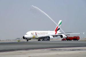 Emirates A380 fliegt Kurzstrecke zweimal pro Tag