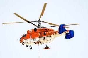 Kamov Ka-32 im Flugeinsatz am Airport MUC