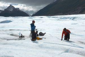 Radarsatelliten erfassen Massenverluste an Gletschern