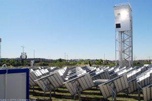 Kerosin aus CO2 und Solarthermie in Betrieb