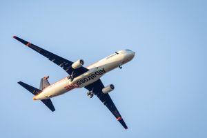 Airbus testet klappbare Flügelspitzen im Flug