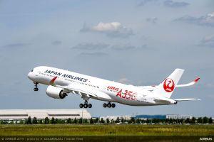 Japan Airlines bekommt ersten A350 XWB