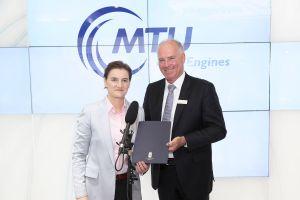 Nova Pazova als neue MTU Instandhaltung Serbien
