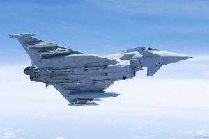 Kollision und Absturz zweier deutscher Eurofighter