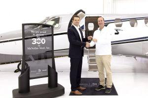 300. Business Jet Cessna Citation CJ4 ausgeliefert