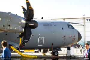 A400M passiert Global Support Step 2 mit OCCAR