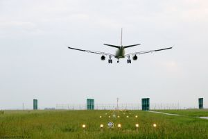 Tests am Airport für weniger Wirbelschleppen