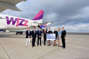 Wizz Air legt zum Jubiläum Ohrid ab DTM auf