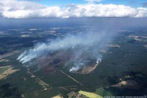 Waldbrand in Mecklenburg-Vorpommern: ZKI liefert Daten