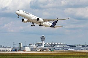 Passagiere am Airport München steigen erneut