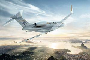 Bombardier Challenger 350 bei 300 ausgelieferten Jets