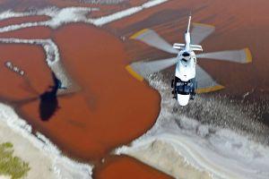 ACH160 im Anflug auf Philippinen