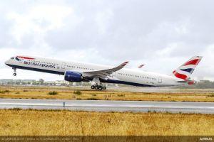 British Airways bekommt ersten Airbus A350-1000 XWB