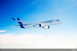 Airbus schickt A220 auf Demo-Tour nach Asien