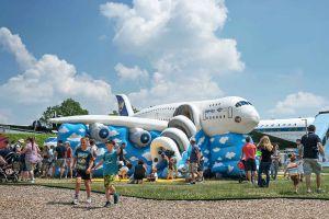 Besucherpark am Airport München lädt zum Familienfest