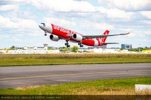 A330neo fliegt jetzt erstmals für AirAsia