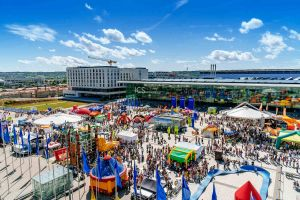 Zehntausende zum Kinderfest am Flughafen Stuttgart