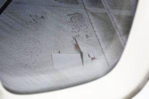 Fahrwerksbruch in Boeing 747 durchstößt Tragfläche