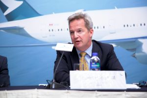 Cathay Pacific CEO Rupert Hogg geht