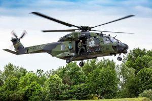 NH90 Instandhaltung: Airbus und Elbe Flugzeugwerke
