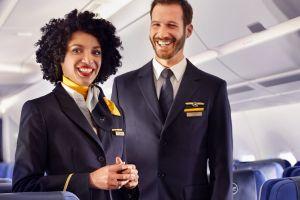 Flugbegleiter mit IHK für Serviceprofil bei Lufthansa