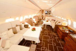 ACJ319 kommt zur Show der Business Jets RUBAE