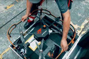 Drohne übernimmt Inspektion von Airbus bei AUA
