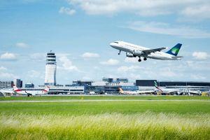 Viel mehr Reisende am Flughafen Wien